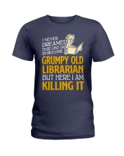 Grumpy Old Librarian Ladies T-Shirt thumbnail