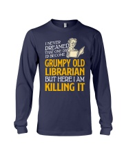 Grumpy Old Librarian Long Sleeve Tee thumbnail