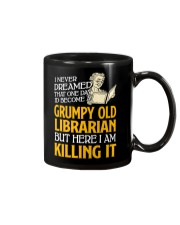Grumpy Old Librarian Mug tile
