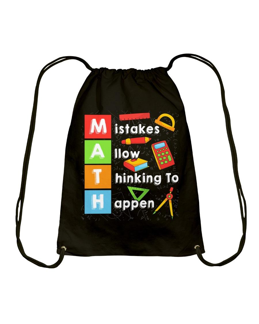 Math Shirt Drawstring Bag