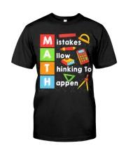 Math Shirt Classic T-Shirt thumbnail