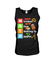 Math Shirt Unisex Tank tile