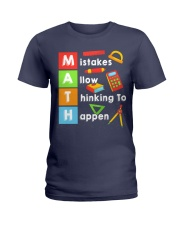 Math Shirt Ladies T-Shirt thumbnail