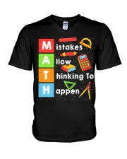 Math Shirt V-Neck T-Shirt thumbnail
