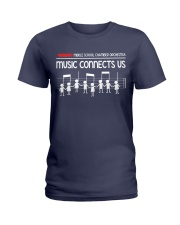 Music connects us Ladies T-Shirt thumbnail