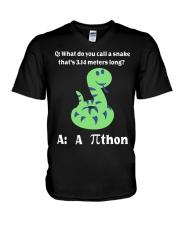 Math V-Neck T-Shirt thumbnail