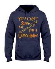 You can't scare me i'm a library helper Hooded Sweatshirt thumbnail