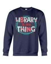 Library is my Thing Crewneck Sweatshirt thumbnail