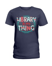 Library is my Thing Ladies T-Shirt thumbnail