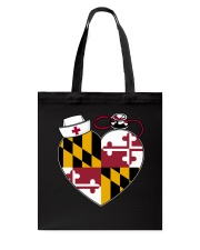 Maryland Nurse Tote Bag front