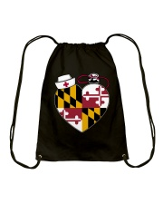 Maryland Nurse Drawstring Bag thumbnail