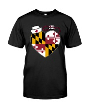 Maryland Nurse Premium Fit Mens Tee thumbnail