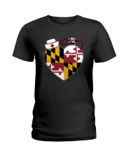 Maryland Nurse Ladies T-Shirt thumbnail