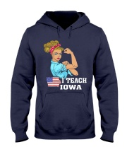 I TEACH IOWA Hooded Sweatshirt thumbnail