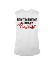 Don't make me act like my Nurse Bestie Sleeveless Tee thumbnail