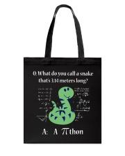 Math Pi Tote Bag thumbnail