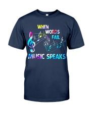 Music Speaks Classic T-Shirt thumbnail