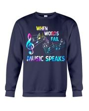 Music Speaks Crewneck Sweatshirt thumbnail