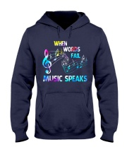 Music Speaks Hooded Sweatshirt tile