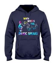 Music Speaks Hooded Sweatshirt thumbnail