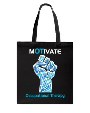 Motivate Occupational Therapy Tote Bag thumbnail