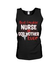 Best Freakin Nurse Unisex Tank thumbnail