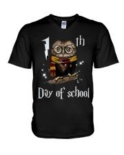 100 DAYS OF SCHOOL V-Neck T-Shirt thumbnail