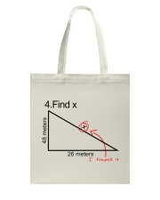 Find X Tote Bag tile