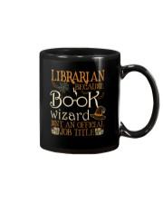 Librarian Because book wizard Mug thumbnail