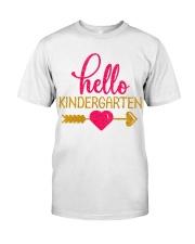 Hello Kindergarten Classic T-Shirt front