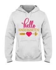 Hello Kindergarten Hooded Sweatshirt thumbnail