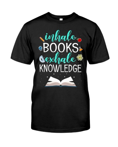 INHALE BOOKS EXHALE KNOWLEDGE