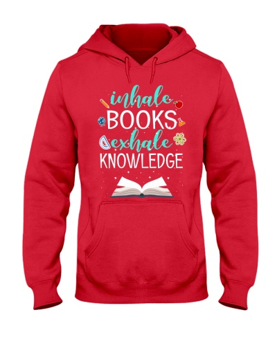 INHALE BOOKS EXHALE KNOWLEDGE