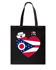 Ohio Nurse Tote Bag front