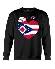 Ohio Nurse Crewneck Sweatshirt thumbnail