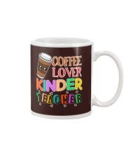 Coffee Lover Kinder Teacher Mug thumbnail