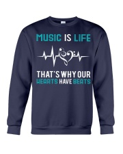 Music is Life Crewneck Sweatshirt thumbnail