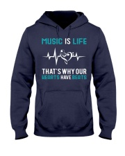 Music is Life Hooded Sweatshirt thumbnail
