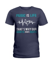 Music is Life Ladies T-Shirt thumbnail