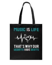 Music is Life Tote Bag thumbnail