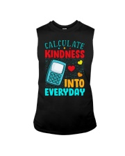 Calculate kindness into every day Sleeveless Tee thumbnail