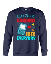 Calculate kindness into every day Crewneck Sweatshirt thumbnail