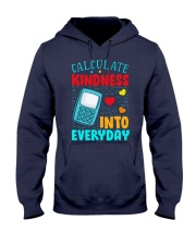 Calculate kindness into every day Hooded Sweatshirt thumbnail