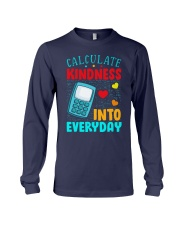 Calculate kindness into every day Long Sleeve Tee thumbnail