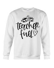 Teacher Fuel Crewneck Sweatshirt thumbnail