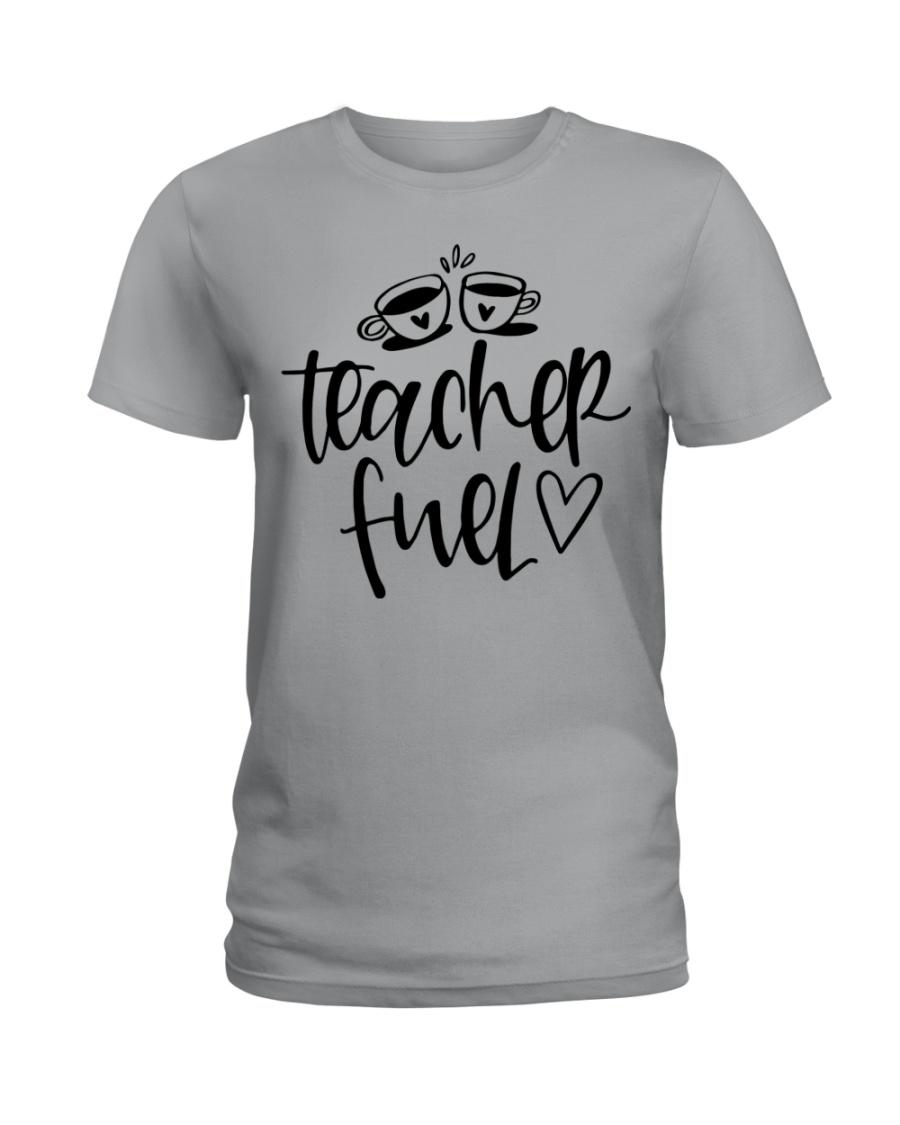 Teacher Fuel Ladies T-Shirt showcase