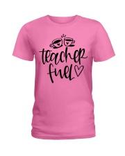 Teacher Fuel Ladies T-Shirt tile