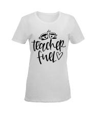 Teacher Fuel Ladies T-Shirt women-premium-crewneck-shirt-front