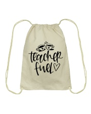 Teacher Fuel Drawstring Bag thumbnail