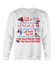 I will Teach  Crewneck Sweatshirt thumbnail